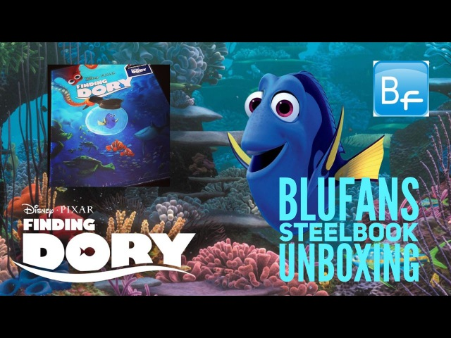 Blufans FINDING DORY Steelbook Unboxing with Big Pauly