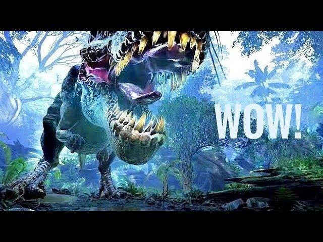 VR Video 360 Jurassic Dinosaur