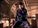Power Rangers Time Force Eric becomes the Quantum Ranger First Morph