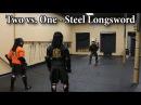 Two vs. One: Steel Longsword - Sparring Showcase