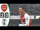 Arsenal vs Tottenham 2-0 Extended Highlights HD 2017