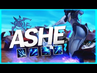 Ashe Montage - Best Of Ashe Plays | League of Legends