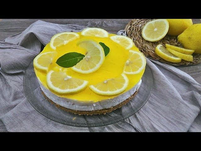 Torta fredda al limone - No bake lemon cake