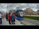 Трамвай 7 Площадь Тверской Заставы метро Бульвар Рокоссовского