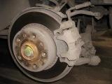 Переборка задних тормозных суппортов Audi А100/S4