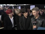 K-Pop band BTS says being at the AMAs