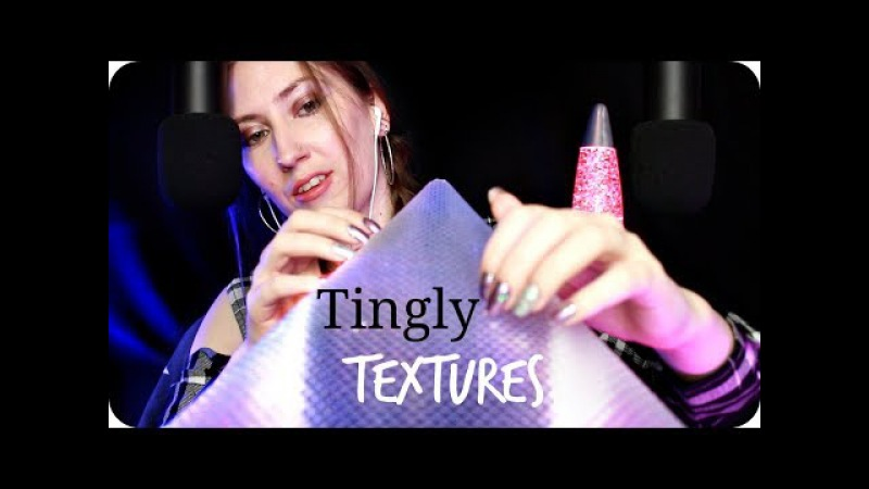 ASMR Tingly Textures! 💫 Scratching Tapping Triggers for Tingles w/ Close Up Whispering 💜