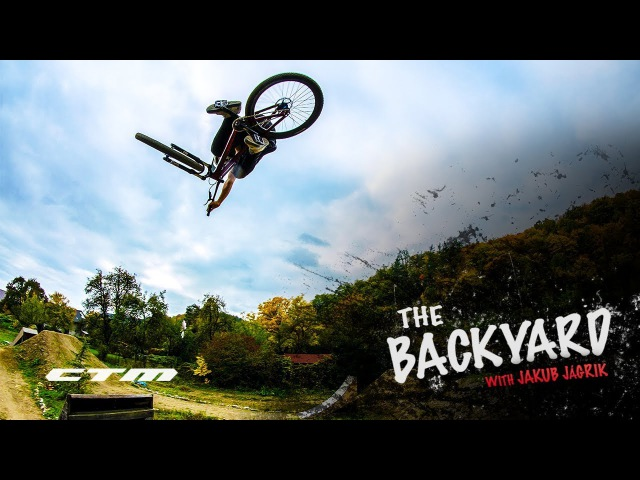 THE BACKYARD with Jakub Jágrik | CTM RIDERS