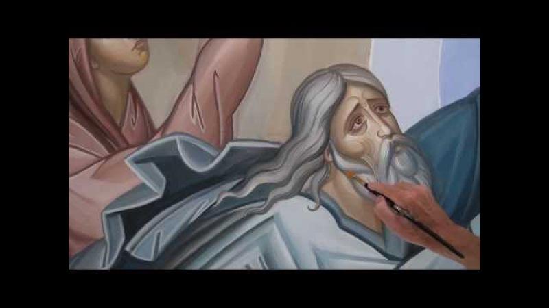 Как написать икону, How to paint an icon, Comment peindre l'icône, Dipingere l'icona