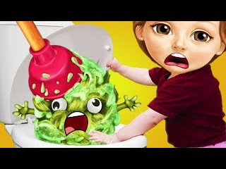 Fun Baby Girl Care Colors Game - Play Sweet Baby Girl Cleanup 5 Messy House Makeover - Game For Kids