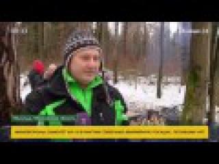 Антистресс - хождение по горящим углям. Телеканал Москва 24 у нас на тренинге.