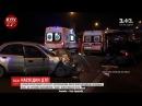 Внаслідок аварії на Брест Литовському шосе пасажиру Ауді ампутували ногу