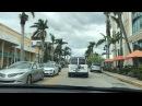 Флорида для пенсионеров Naples Florida 11.2017 Нэйплс downtown одноэтажная Америка