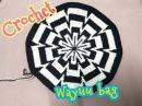 Wayuu bag ||กระเป๋าวายู ||ถักสลับสีกระเป๋าวายู||ถัก