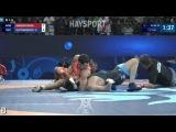 Semi-final. GR - 80 kg: 🇦🇲 Maksim Manukyan def. Zurabi Datunashvili 🇬🇪 7-0