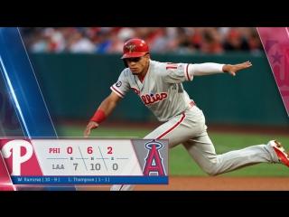 Game 105: LAA_7_PHI_0 © MLB.com