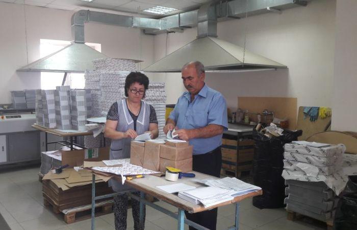 Зеленчукский район получил избирательные бюллетени