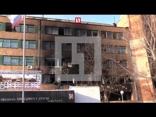 Первое видео с места взрыва, при котором был убит Гиви