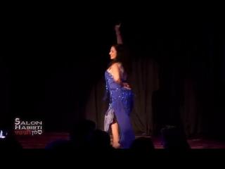 Yael Becker Belly dance Tab Wana Mali at Salon Habibti 8996