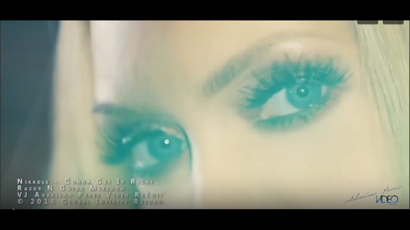 Nikkole - Gonna Get It Right (Razor N Guido Mixshow) VJ Adrriano Video ReEdit FullHD