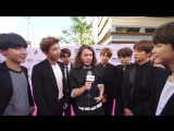 170525 BTS Interview BBMAs Magenta Carpet