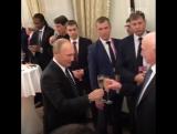 Владимир Путин на соборе и на жеребьевке