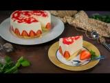 Йогуртовый торт клубникой