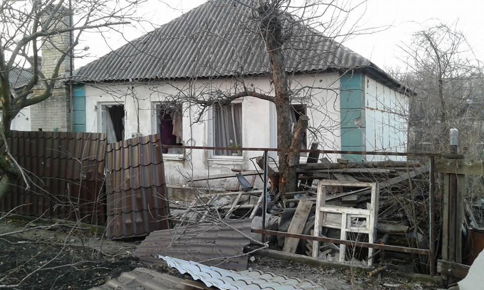 Фронтовая Горловка: последствия обстрелов