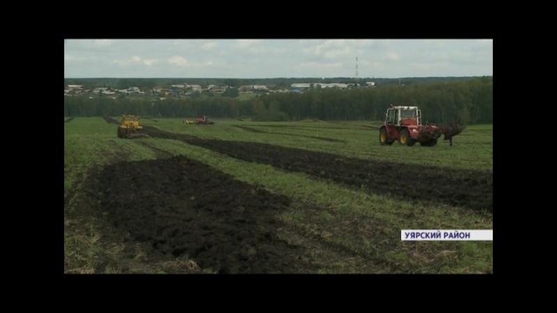 Конкурс механизаторов в Уярском районе