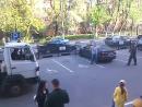Девушка успела до эвакуации автомобиля с парковки для Инвалидов