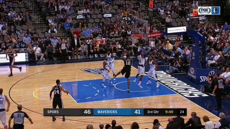 NBA 2017-18/ 14.11.2017 / Даллас - Сан-Антонио