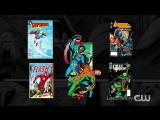 Стрела, Флэш, Легенды, Супергерл, Черная молния:  Озвученный трейлер к новым сезонам: «Черная молния. Где рождаются герои».