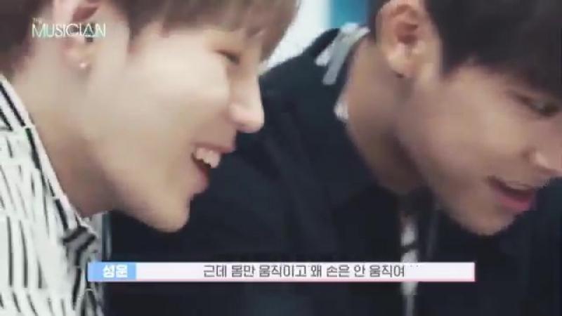 Woojin, Sungwoon, Jisung cf the musican