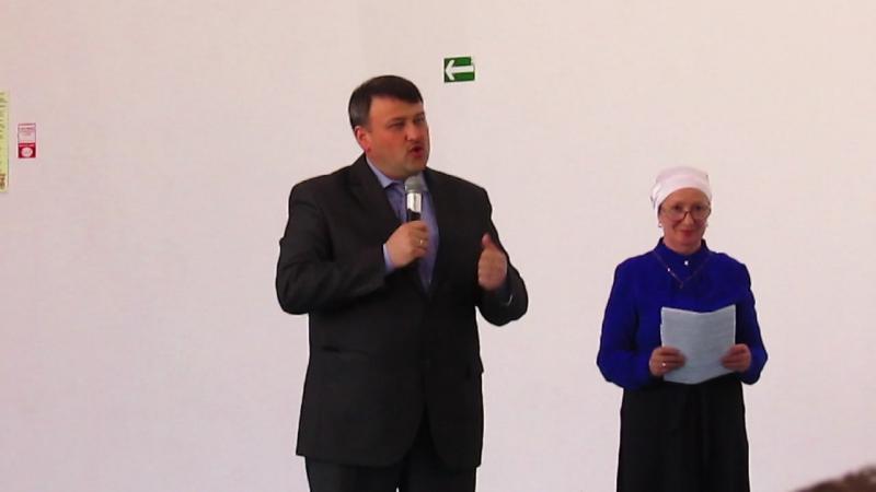Выступление главы Кайбицкого района