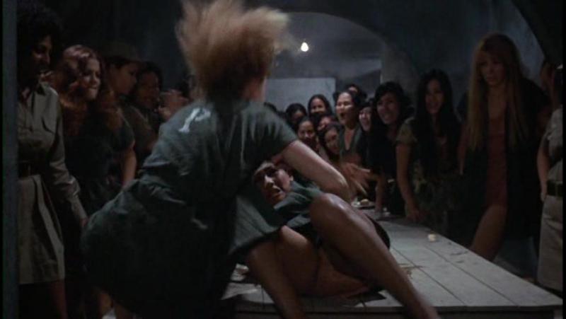 худ.фильм про женскую тюрьму(есть бдсм и изнасилования) Women in Cages(Женщины в клетках) - 1971 год, Роберта Коллинз, Пэм Гриер