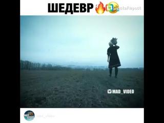 Казахская пародия на клип группы Грибы