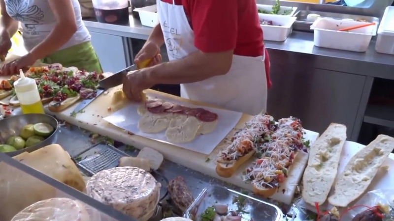 Street Food Italy Sicily incredible Panini _ Sandwich (edited)