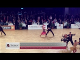 WDSF World Championships Latin 2017 Vienna Konstantin Gorodilov  Dominika Bergmannova Jive
