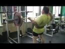 Тренировка Большого Друга от 20 октября 2017 г. Подъем штанги на бицепс - 70 кг. на 6 раз