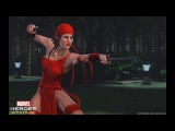 Elektra Joins the Fight in Marvel Heroes Omega for PlayStation4 and Xbox One