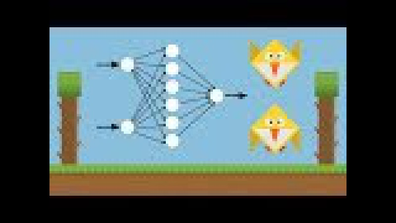 Machine Learning for Flappy Bird using Neural Network Genetic Algorithm
