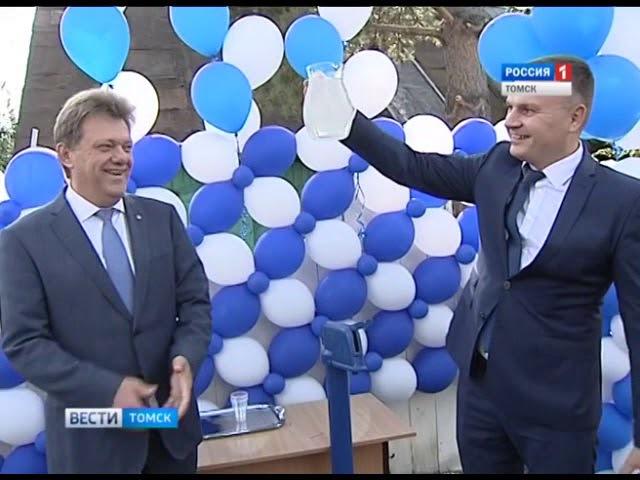 В России торжественно открыли водопроводную колонку