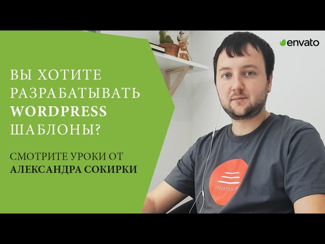 Уроки по WordPress от Александра Сокирки. Соц. Промо.