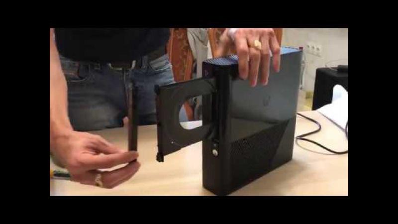 Разборка / сборка xbox360 E без специального инструмента