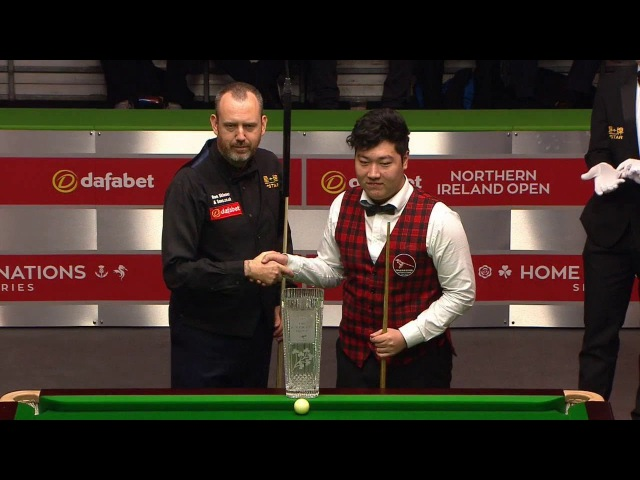 Yan Bingtao 颜丙涛 v Mark Williams [HD] FINAL Northern Ireland Open Snooker 2017