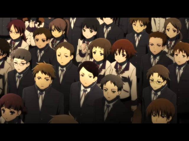 Отрывок из аниме Angel Beats/Ангельские ритмы. 2. Последняя песня Ивасавы.
