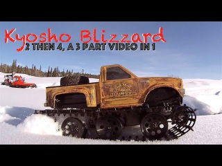 RC CWR 2 then 4 Kyosho Blizzards trail run and some Scale Town shop talk