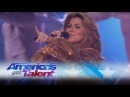 """Shania Twain Performs """"Life's About To Get Good"""" on AGT - America's Got Talent 2017"""