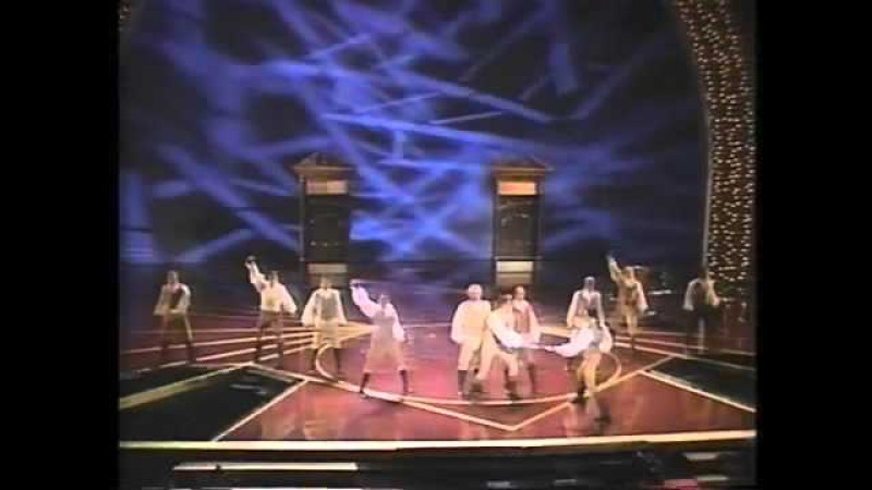 The Scarlet Pimpernel - Into The Fire. Tony Awards.flv