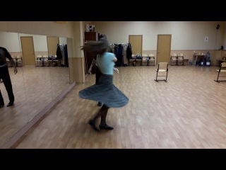 Cross step waltz, Воронеж, 26 11 17, элементы свинга